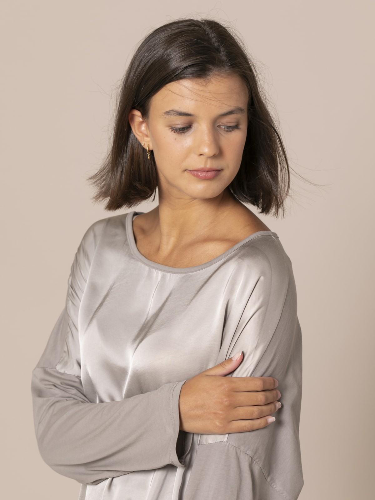 Camiseta mujer oversize chic Piedra