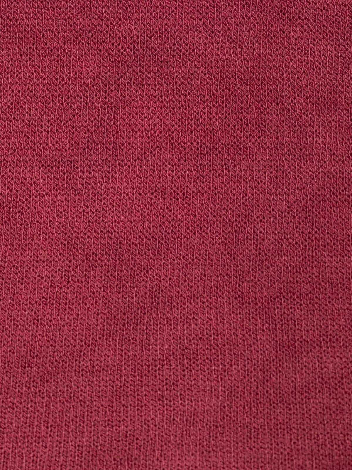 Jersey de mujer suelto Granate