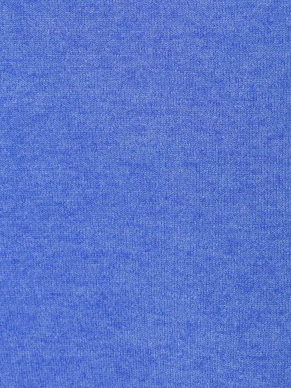 Jersey mujer punto fino cuello redondo Azul
