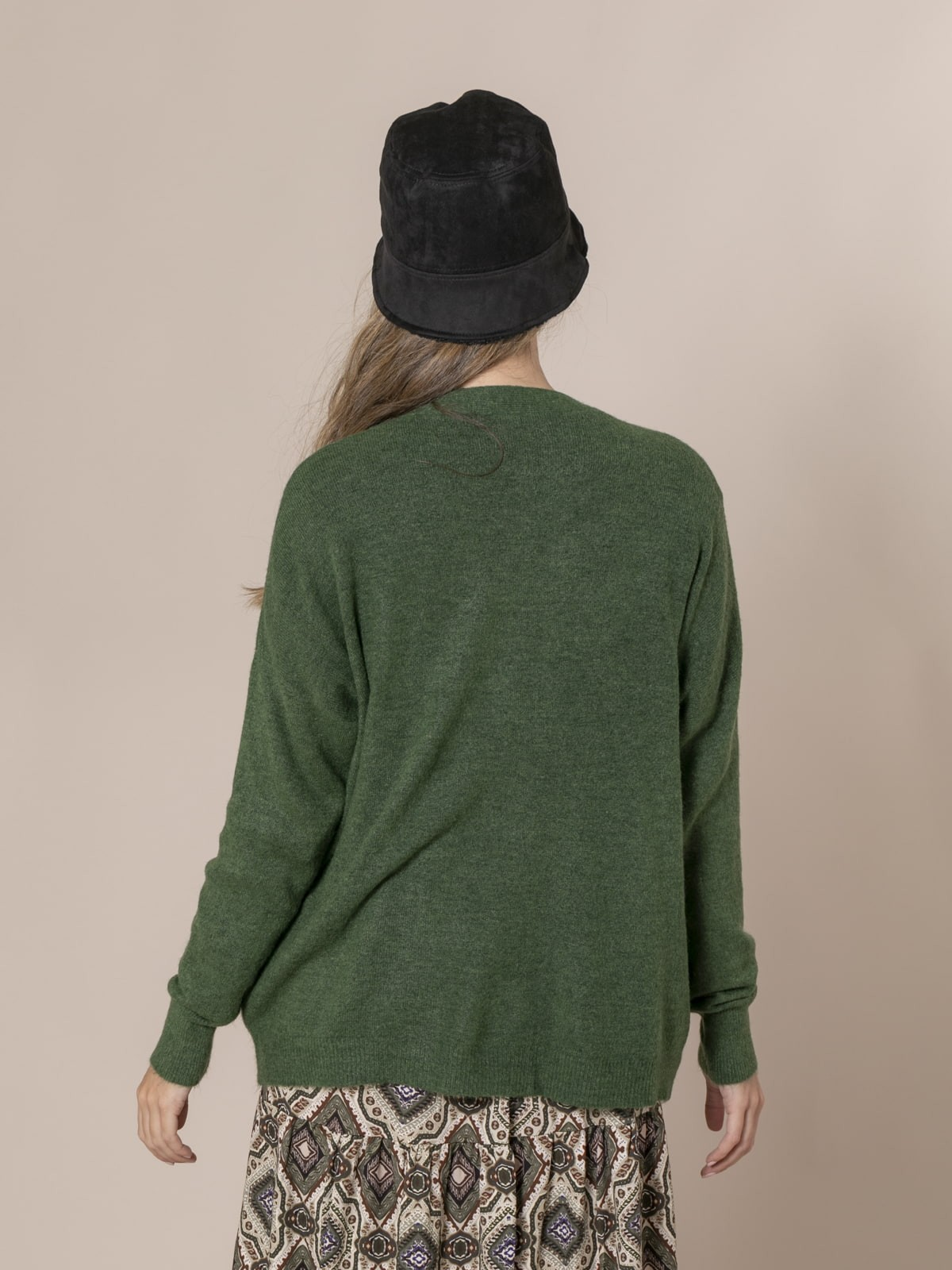 Woman Dolce knit cardigan Green