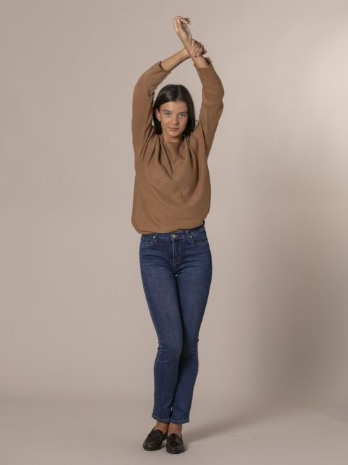 Woman Skinny denim trousers Blue
