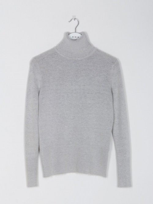 Women knitted high neck Grey