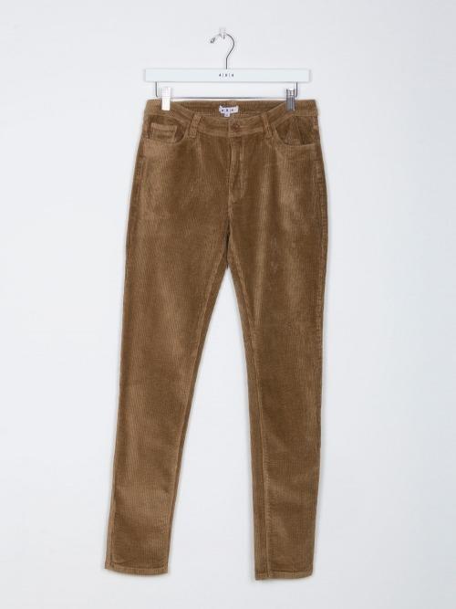 Pantalon slim micropana mujer