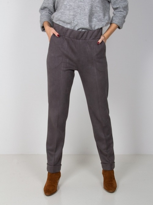 Pantalon elastico confort mujer