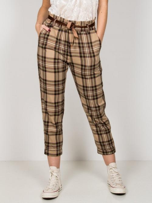 pantalon cuadros trendy mujer